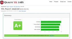 Qualys SSL Labs - SLAED CMS - SSL Server Test